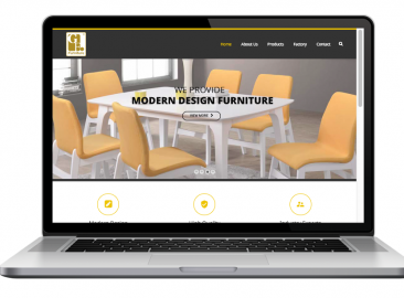 AdsMunch Web Design Malaysia | Our work for a Furniture Design and Manufacturing Company