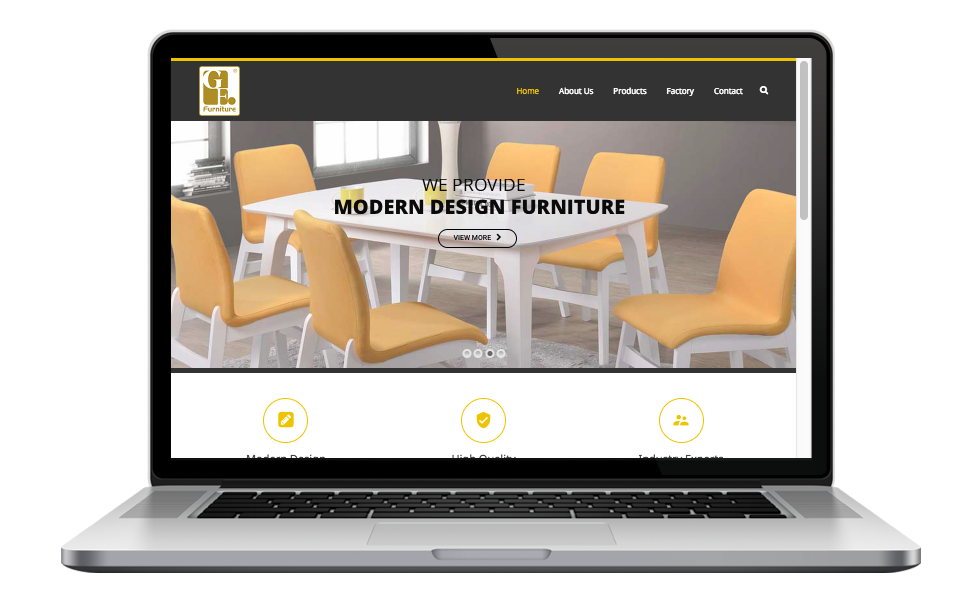 AdsMunch Web Design Malaysia   Our work for a Furniture Design and Manufacturing Company