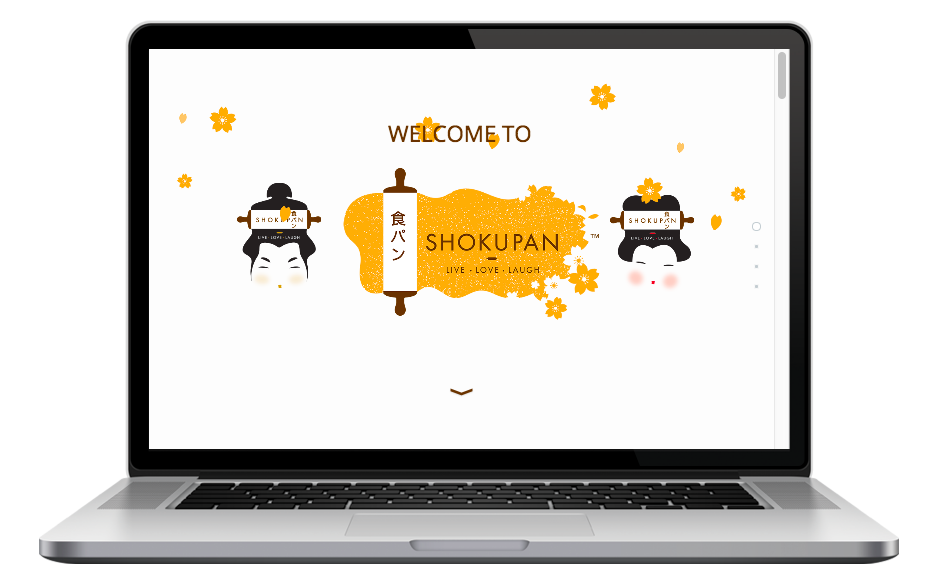 AdsMunch Web Design Malaysia | Our work for a Japanese Style Pastry Business