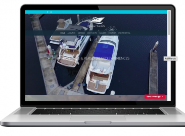 AdsMunch Web Design Malaysia | Our work for a Yachts Rental Company
