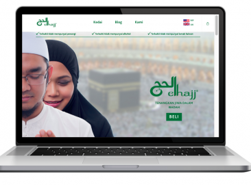 AdsMunch Web Design Malaysia | Our work for a Halal Skincare Products Company