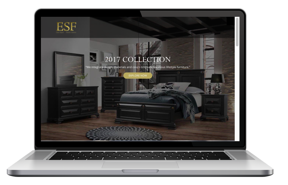 AdsMunch Web Design Malaysia   Our work for a Quality Furniture Manufacturing Company
