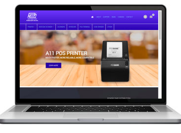 AdsMunch Web Design Malaysia | Our work for a Industrial Digital Equipment Supplier
