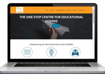 AdsMunch Web Design Malaysia | Our work for a Coding Education Institution for Children