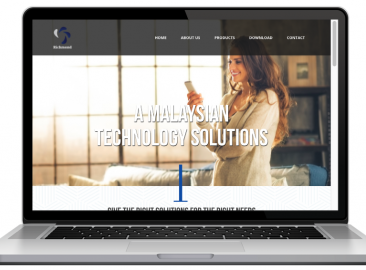 AdsMunch Web Design Malaysia | Our work for a Smart Building and Home Automation Company