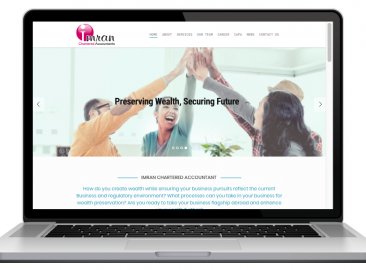 AdsMunch Web Design Malaysia | Our work for an Accounting Services Company