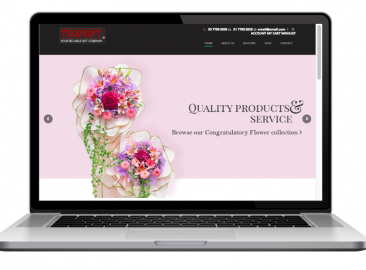 AdsMunch Web Design Malaysia | Our work for an E-commerce Website for a Custom Gifts Company