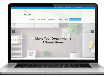 AdsMunch Web Design Malaysia | Our work for a design, renovation, construction and interior works Company