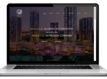 AdsMunch Web Design Malaysia | Our work for an Aluminium Form-work and Extrusion Company