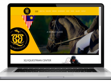 AdsMunch Web Design Malaysia | Our work for a 30 Acre Private Equestrian Park