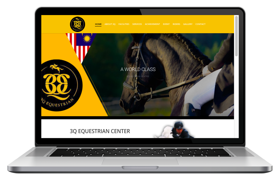 AdsMunch Web Design Malaysia   Our work for a 30 Acre Private Equestrian Park