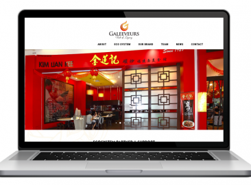 AdsMunch Web Design Malaysia | Our work for an F&B Incubation Advisory Agency
