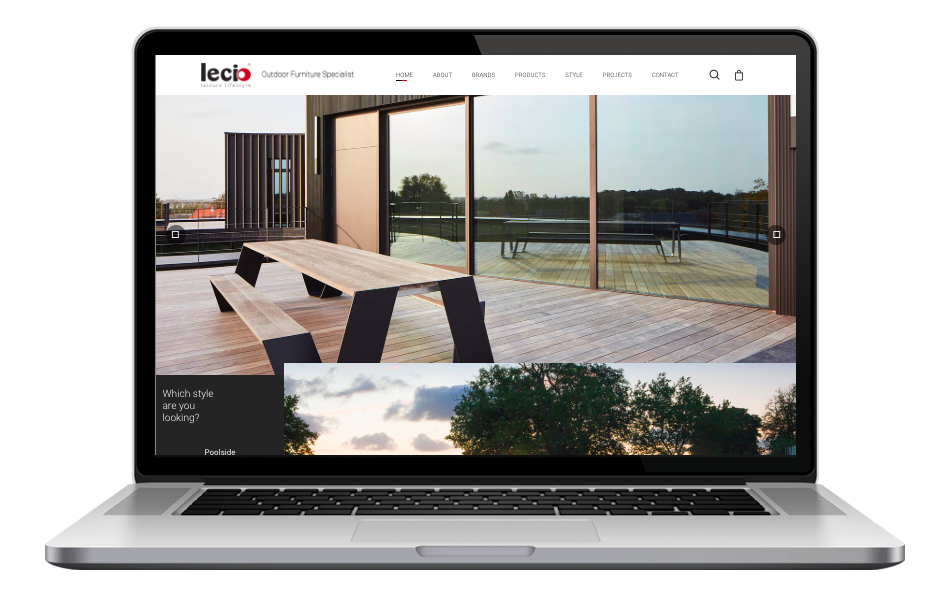AdsMunch Web Design Malaysia | Our work for an Outdoor Furniture Specialist