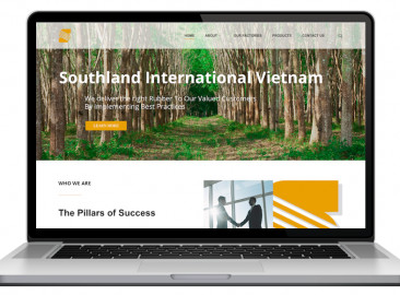 AdsMunch Web Design Malaysia | Our work for an International Rubber Manufacturer