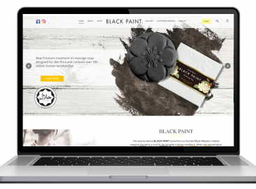 AdsMunch Web Design Malaysia | Our work for a Japanese Cosmetics Products Company