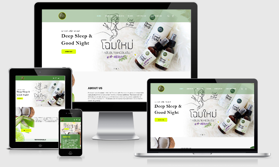 AdsMunch Web Design Malaysia | Our work for a Cosmetics Products Company