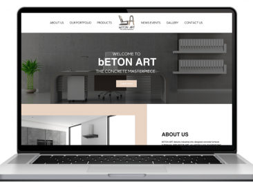 AdsMunch Web Design Malaysia | Our work for a Furniture Supplier