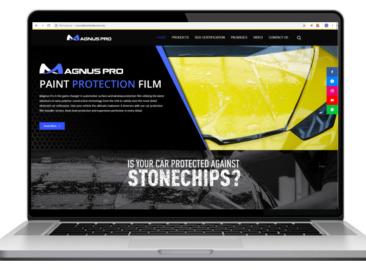 AdsMunch Web Design Malaysia | Our work for a Automotive Protection Products Company