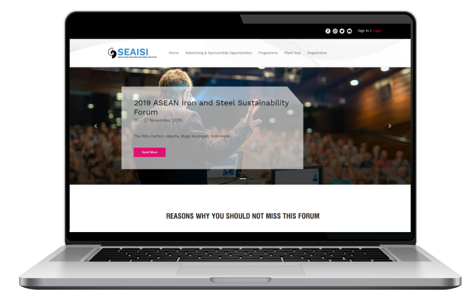 AdsMunch Web Design Malaysia | Our Web Application Development a Steel Association